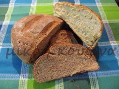 μικρή κουζίνα: Ψωμί ολικής άλεσης στον αρτοπαρασκευαστή (ή στο χέ... Pain, Recipies, Bread, Food, Recipe, Recipes, Rezepte, Meals, Breads