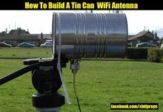 How To Build A Tin Can WiFi Antenna - SHTF Preparedness
