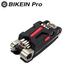 BIEKIN 18 in 1 Multifunction Bicycle Repair Tools Kit Cycling MTB Road Repair Tool Set Mountain Bike Screwdriver Hex Spoke Tools