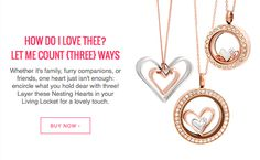 3 in one set give you versatility and beauty with yourOrigami Owl jewelry.  http://locketsandcharms.origamiowl.com
