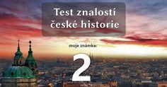 Česká historie v letopočtech | Kvízy a testy Teaching History, Quizzes, Math, Halloween, School, Movies, Movie Posters, History, 2016 Movies