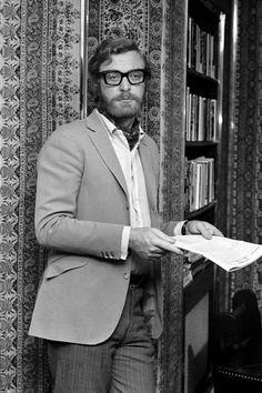 Michael Caine with beard