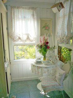 Front porch for a little spot of tea