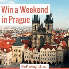 Win a Weekend in Prague via Her Packing List