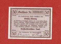 Germany Notgeld 50 Pfennig Schleswig Holstein Sueder Suder Dithmarschen #19a