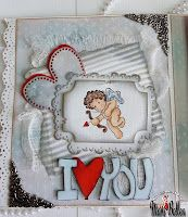 Cupido, Sweet Crazy Love collection, Magnolia stamps