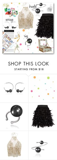 """Blingsense"" by spolyvore1 ❤ liked on Polyvore featuring York Wallcoverings, Alice + Olivia and Kate Spade"