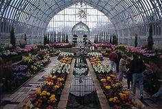 Sunken Garden, Como Park Conservatory - St. Paul, MN