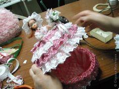 Куклы, Мастер-класс Шитьё: Мои шкатулки Барби обещанный МК 8 марта, Валентинов день, День рождения, День семьи, Новый год. Фото 33