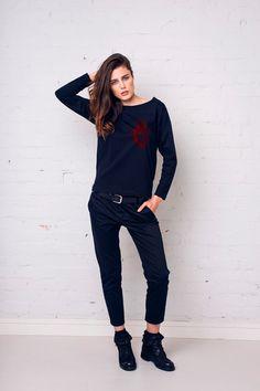 HEART Bluzka Oversize - GAUgreatasyou - Koszulki i bluzy