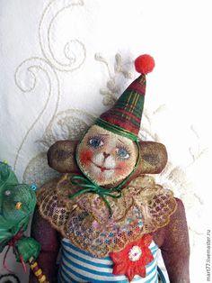 Купить Готовимся к Новому Году!! Счастливая Чита) - разноцветный, обезьянка, подарок, подарок на новый год, мартышка