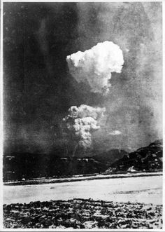 Foto real de la bomba atómica en Hiroshima se ha encontrado