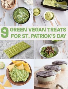 9 Green Vegan Treats for St. Patrick's Day   http://ElephantasticVegan.com