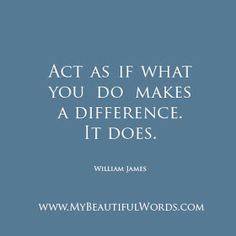 24 Best One Person Can Make A Difference Images Quote Life