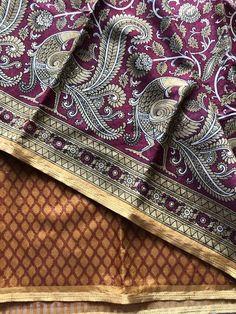 Printed art silk saree Raw Silk Saree, Silk Sarees, Trendy Sarees, Shoulder Bag, Printed, Bags, Collection, Fashion, Handbags