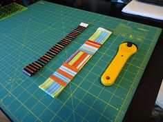 In this tutorial we will be joining the blocks, with  narrow joining strips . The steps are much the same as # 4 Joining the Blocks  Tutoria...
