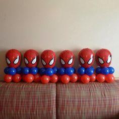 Globos Spiderman