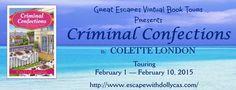 Bea's Book Nook: Bea Reviews Criminal Confections by Colette London...