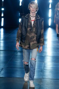 Saint Laurent Spring 2016 Menswear Fashion Show: Complete Collection - Style.com