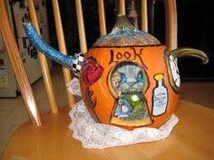 alice in wonderland pumpkin carving ideas - Google Search
