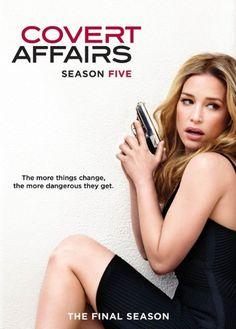 Covert Affairs: Season 5 - Starring Piper Perabo, Christopher Gorham, Peter Gallagher, Kari Matchett, Hill Harper, and Nic Bishop.  #TV