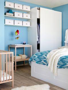 Dormitorios llenos de luz y color