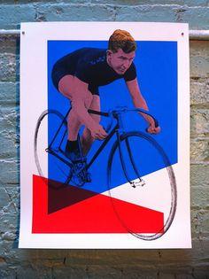 Le Tour Poster - Matt would love this