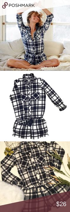 NWOT Aerie Plaid Long Sleeve Romper Cute Aerie Flannel Long Sleeve Romper. NWOT. Size M. Never worn aside from trying on.  aerie Pants Jumpsuits & Rompers