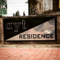 Antalya residence tabelası