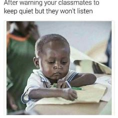 You've seen the memes, now read the story behind the 'Writing Kid' series of memes. African Memes, Kids Series, Image Caption, Kids Writing, Photo Story, Do You Really, School Boy, Sign I, Pictures To Draw