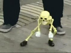 When you're drafted for the skeleton war