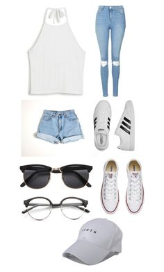 Untitled #11 by simplyfrancesca on Polyvore featuring polyvore, fashion, style, Monki, Levi's, Topshop, Converse, adidas, Concord and clothing
