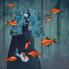 Daria Petrilli - Waving in the blue