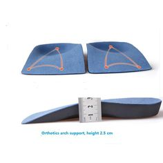 0314f581d2 Orthopedic Insoles Foot Care for Men and Women Foot Pad Shoe Accessories  EVA Flat Foot Orthotics Arch Support Half Shoe Pad-in Insoles from Shoes on  ...