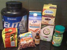 Hazelnut Coffee Protein Shake Recipe