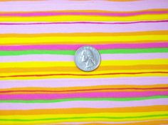 Stripe Cotton Lycra Knit Fabric by FleeceMe on Etsy, $7.00