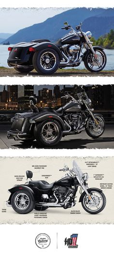 Ride your own way. | 2016 Harley-Davidson Freewheeler