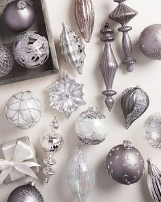 Set of 35 Crystal Palace Glass Ornaments | Balsam Hill