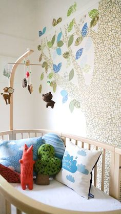 Nursery by www.hidesleep.com.au Wallapertree: #1 juni 066 (inke.nl) Photography: Danielle Trovato
