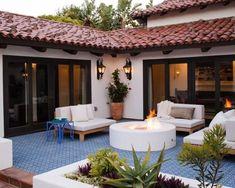 Casas con jardines amplios | Decoracion de interiores Fachadas para casas como Organizar la casa