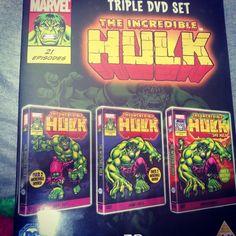 Incredible hulk dvd