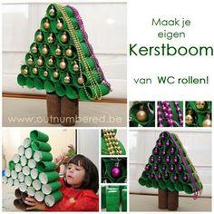 Leuk kerstboom idee kids