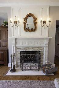 Letu0027s Just Cut To Chase And Start With The Before Of My Fireplace. The Pros  Of This Fireplace Are The Large Size, Lack Of Brass, A... | Pinterest