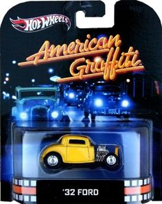 American Graffiti '32 Ford 2013 RETRO Hot Wheels Limited Edition 1:64 Scale Collectible Die Cast Car by Hot Wheels. $3.99. American Graffiti '32 Ford 2013 RETRO Hot Wheels Limited Edition 1:64 Scale Collectible Die Cast Car