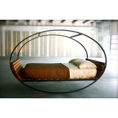 Indoor/outdoor rocking bed. I'd be out like a baby.