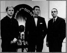 ZERO Ausstellung im Martin-Gropius-Bau. Stedelijk Museum Amsterdam 1962 Heinz Mack, Otto Piene und Günther Uecker anlässlich der Ausstellung NUL Foto: Raoul Van den Boom Copyright: ZERO foundation