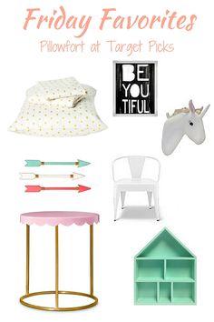 Pillowfort @target picks Toddler girl room