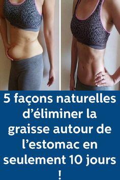 5 façons naturelles d'éliminer la graisse autour de l'estomac en seulement 10 jours ! Anti Cellulite, Sport Motivation, Fit Women, Bodybuilding, Things I Want, Nutrition, Diet, Bra, Fitness