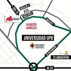 Ven a #GoCo Laureles. Estamos en la Avenida Jardín, Cra 73 # Circular 1-15. Te esperamos de lunes a sábados desde las 10am hasta las 6:30pm #LaMarcaDelGorila. Compra en línea en www.gococlothing.com y recibe tu pedido en cualquier parte de Colombia! Map, Instagram Posts, Warehouses, Online Shopping, Mondays, Parts Of The Mass, Colombia, Location Map, Cards