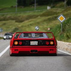 Ferrari F40, Sexy Cars, Cars And Motorcycles, Luxury Cars, Cool Cars, Dream Cars, Nissan, Automobile, Gallery Wall